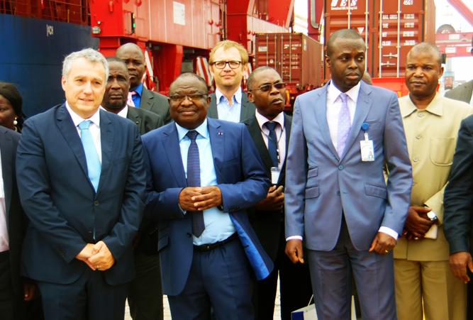Congo terminal actualit s visite du ministre du commerce for Ministre du commerce exterieur